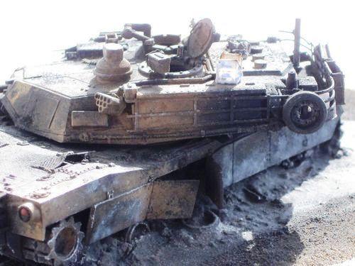 zerstörte leopard 2