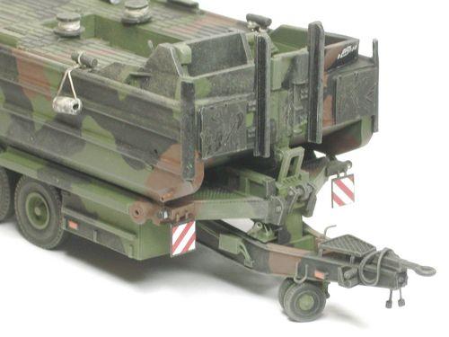 M-Boot 3 auf Anhänger