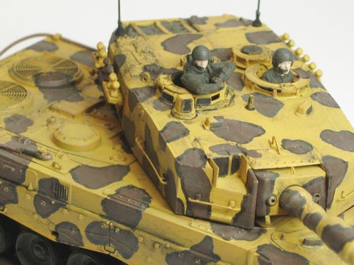 Leopard 2A4 Turmdetails